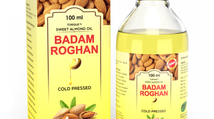 herbal badam roghan oil for skin care